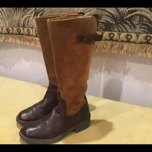 Born Leather/Suede Boots